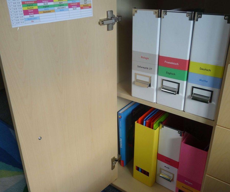 Foto Bild Reiter Schulfach Folder Büchertasche Ranzen Stehsammler besser organisiert 4