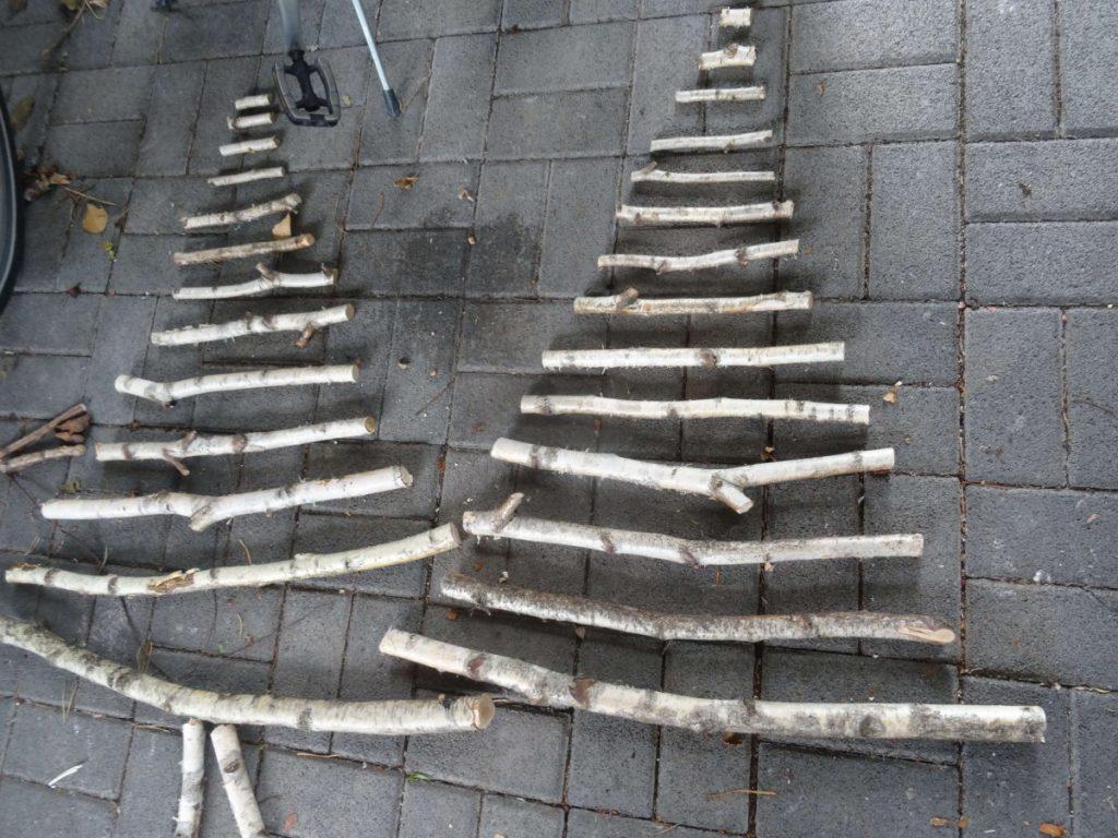 Tannenbaum Aus Birkenasten Einfachhauswirtschaft De